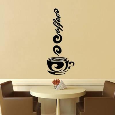 Adesivo De Parede Vapor Café