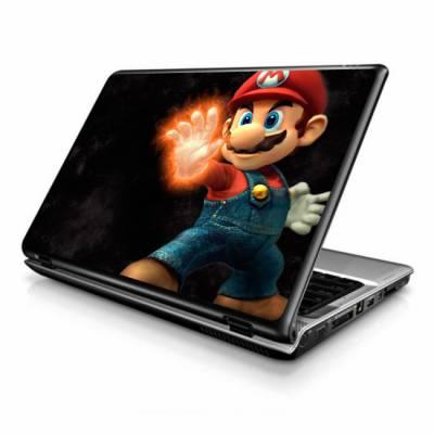 Adesivo Skin para Notebook / Netbook games mario