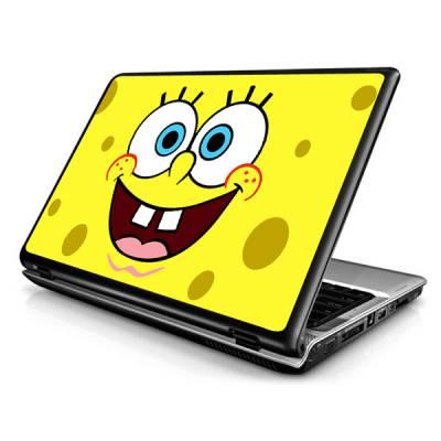 Adesivo Skin para Notebook / Netbook Bob Esponja Modelo 3