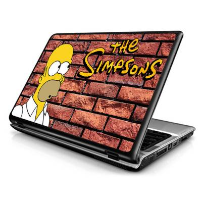 Adesivo Skin para Notebook / Netbook Os Simpsons