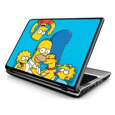 Adesivo Skin para Notebook / Netbook Os Simpsons modelo 4