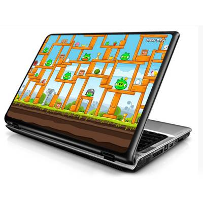 Adesivo Skin para Notebook / Netbook Games Angry Birds 5