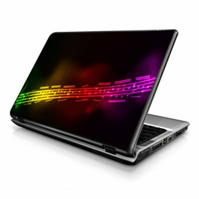 Adesivo Skin para Notebook / Netbook musica partitura