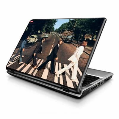 Adesivo Skin para Notebook / Netbook musica the betles
