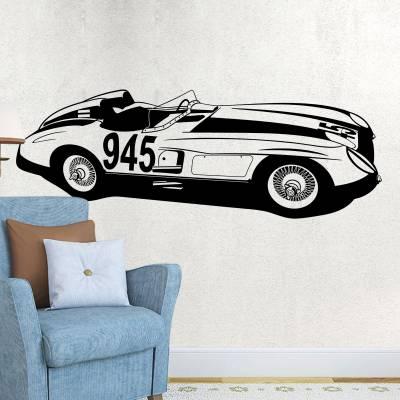 Adesivo de Parede Carro Speed Racer 01