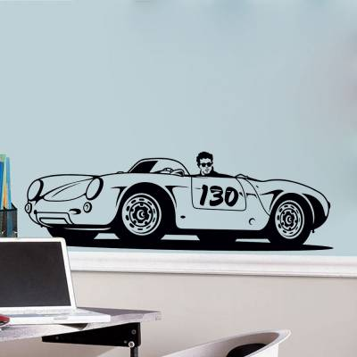 Adesivo de Parede Carro Speed Racer 03