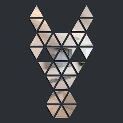 Espelho Decorativo Quadro Mosaico