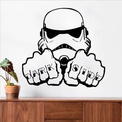Adesivo De Parede Star Wars Dark Side