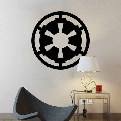 Adesivo De Parede Star Wars Império