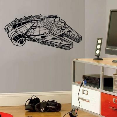 Adesivo De Parede Nave Star Wars