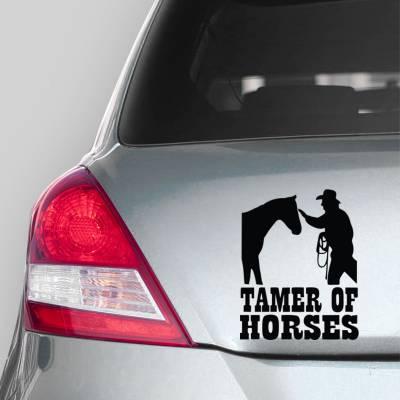 Adesivo de Carro tamer of Horses