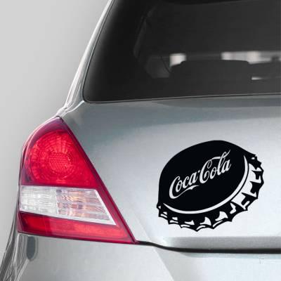 Adesivo d Carro Tampa Coca Cola