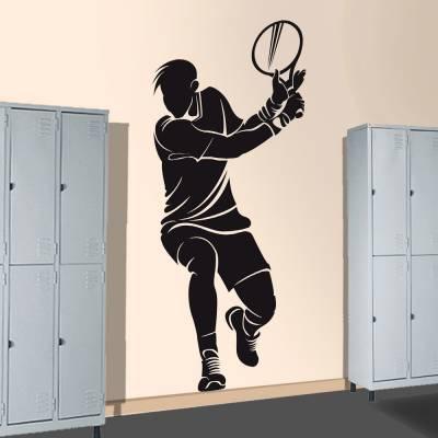 Adesivo De Parede Tenista