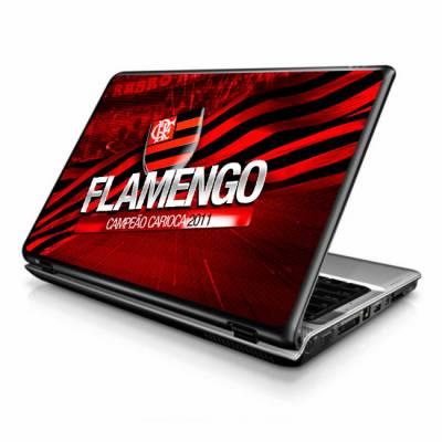 Adesivo Skin para Notebook flamengo