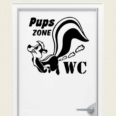 Adesivo De Parede Pups Zone