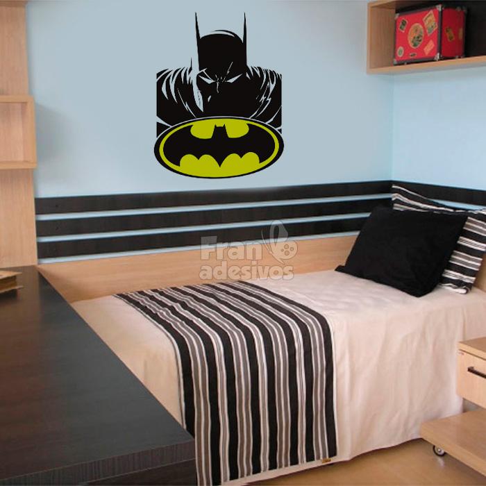 Papel De Parede Para Quarto Batman ~ Home Infantil Diversos Adesivo de Parede Batman