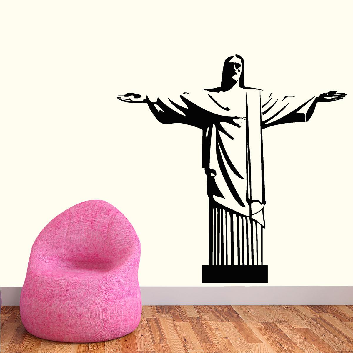 1b6cd4389a5 Adesivo de Parede Cristo Redentor
