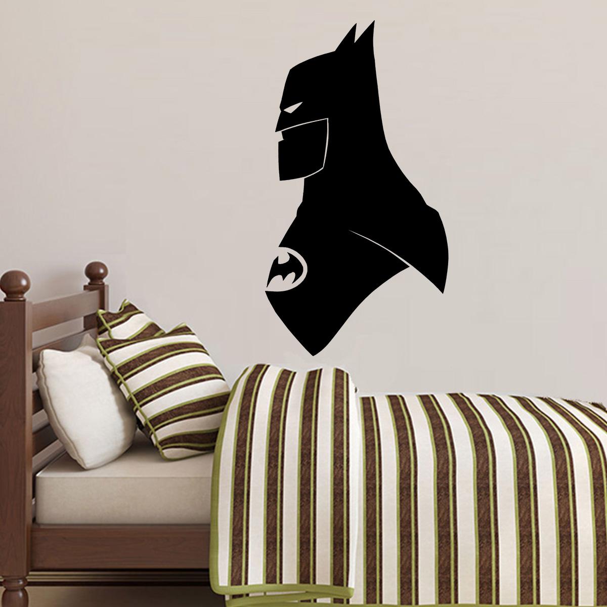 Aparador Para Sala De Estar Com Vidro ~ Adesivo De Parede Batman 5