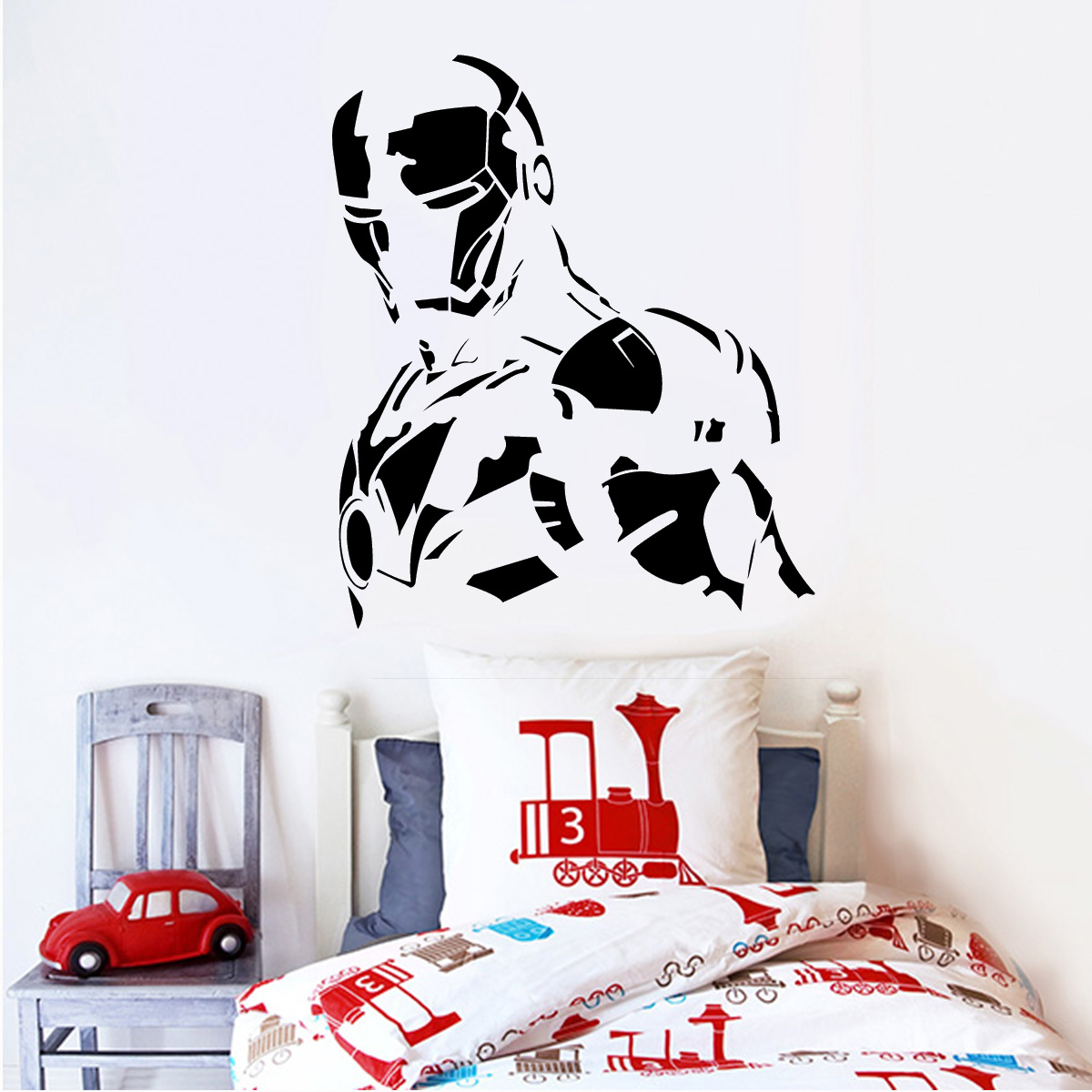 Como Conseguir Adesivo De Idoso ~ Adesivo De Parede Heróis Homem De Ferro 8