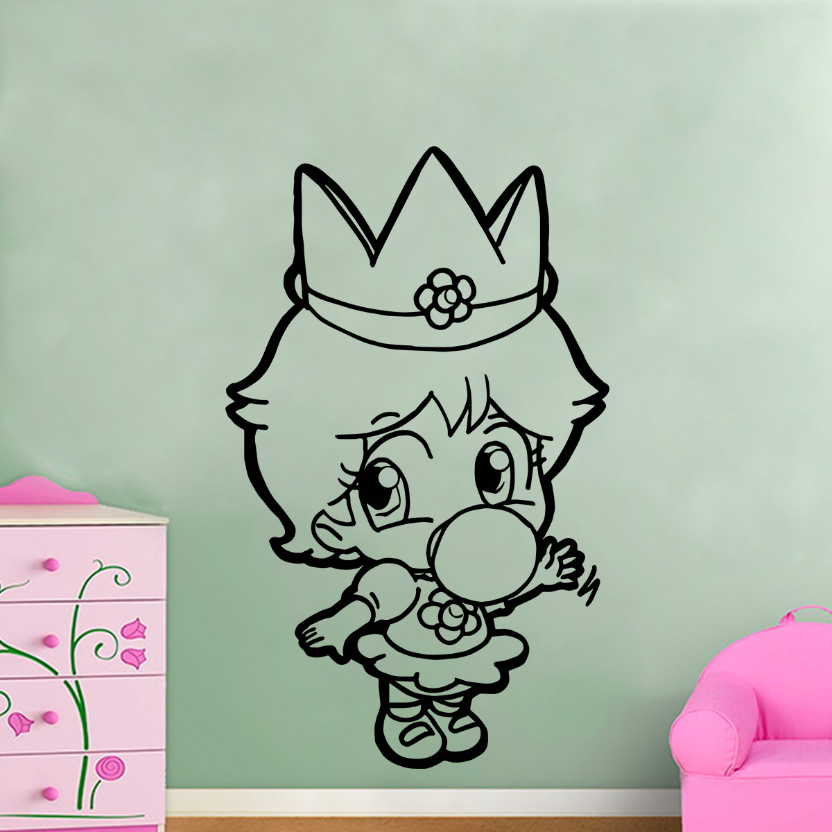 Adesivo Para Moto Frases ~ Adesivo De Parede Princesa Super Mario