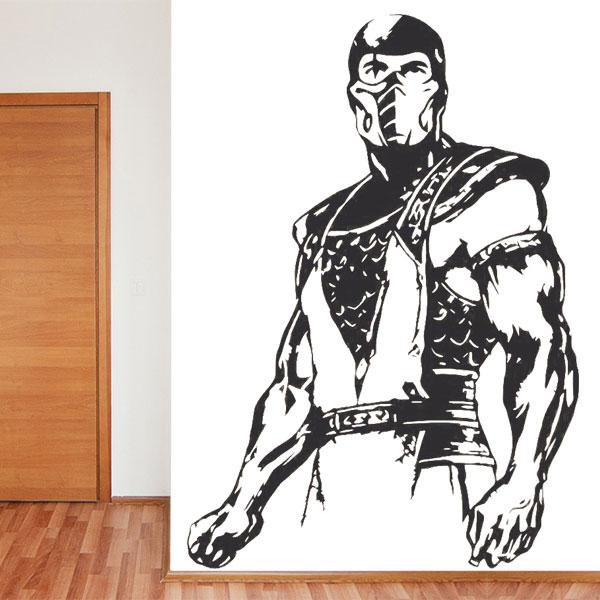 Papel De Parede Para Quarto Mortal Kombat ~ Yazzic com Obtenha uma coleç u00e3o de imagens do