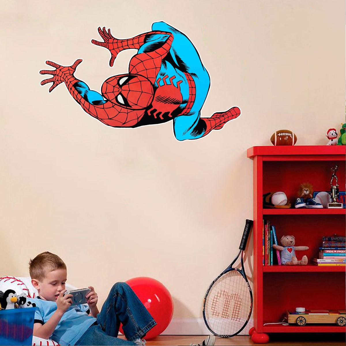Adesivo De Parede Homem Aranha Desenho
