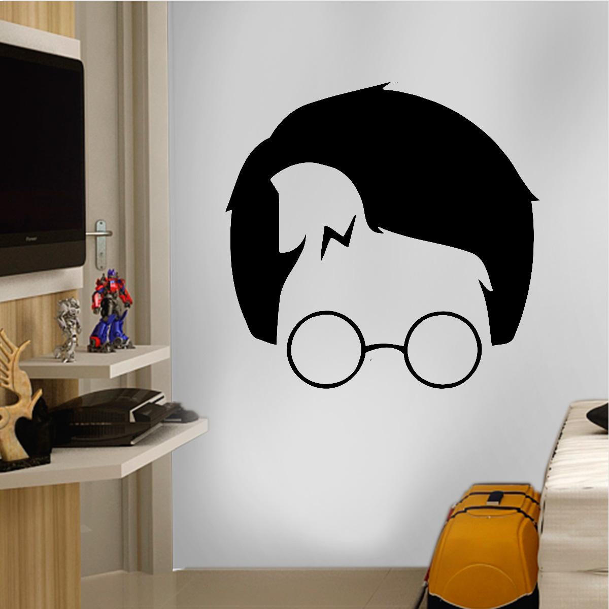 Aparador Blanco Y Negro Lacado ~ Adesivo de Parede Filmes Harry Potter 6