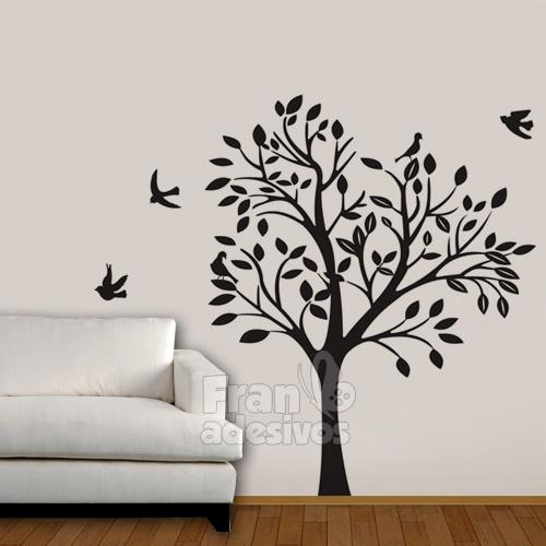 Adesivo parede arabesco pictures to pin on pinterest - Papel para paredes decorativo ...