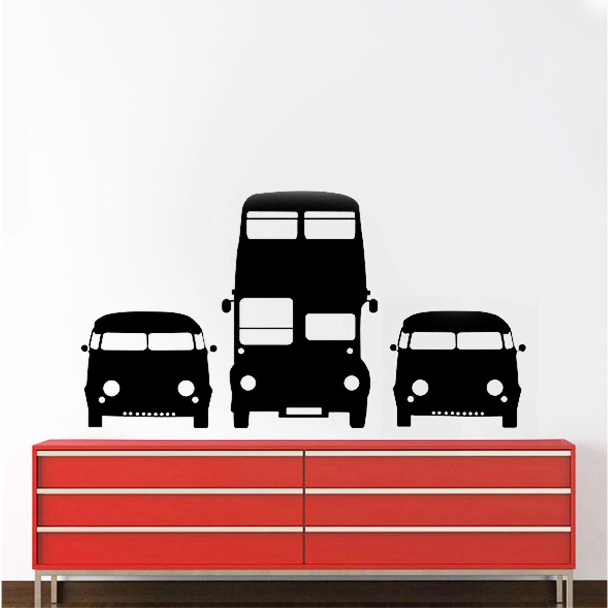 Armario Joyero Pared Ikea ~ Adesivo De Parede Carros Retr u00f4 Kombi Minimalista