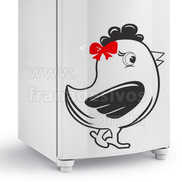 Home Adesivo de geladeira Galinhas Adesivo de Geladeira Galinha com