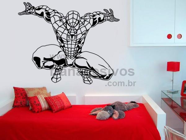 Adesivo de parede Infantil Homem Aranha ~ Adesivo De Parede Quarto Homem